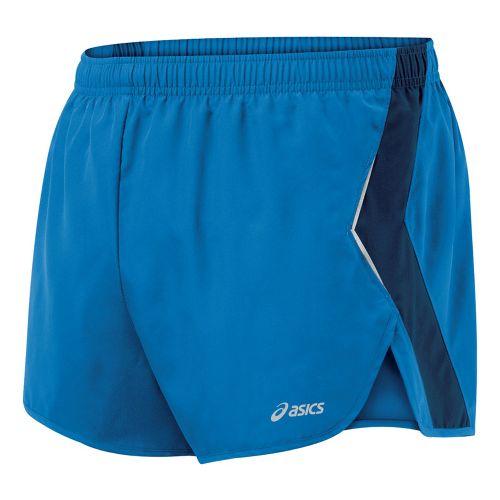 Mens ASICS Split Short Splits Shorts - Jasper/Midnight S
