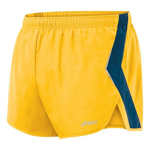 Mens ASICS Split Short Splits Shorts - Spectra/Midnight L