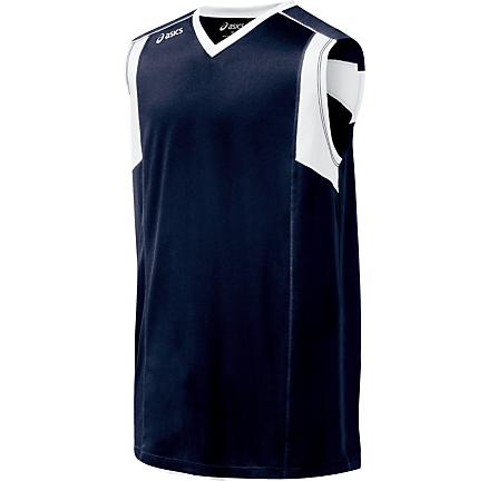 Mens ASICS Top Spin Jersey Sleeveless Technical Tops