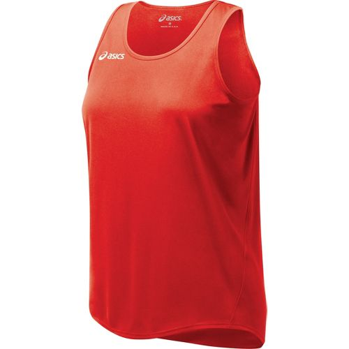 Womens ASICS Propel Singlet Technical Tops - Red XXL