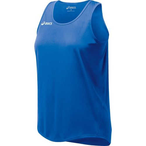 Womens ASICS Propel Singlet Technical Tops - Royal XXL