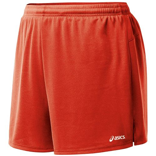 Womens ASICS Propel Lined Shorts - Red M