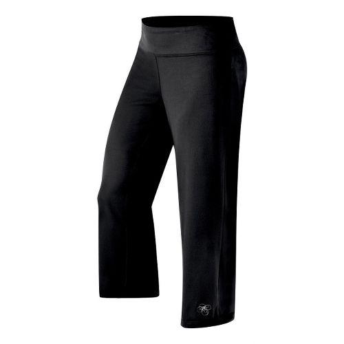 Womens ASICS Aijyo Capri Pants - Black XL
