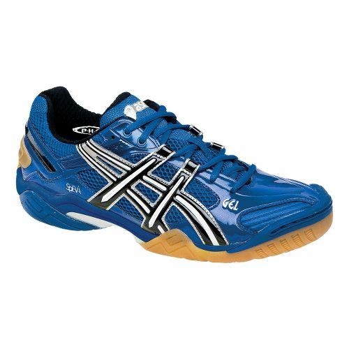 Mens ASICS GEL-Domain 2 Court Shoe - Jet Blue/Jet Black 11