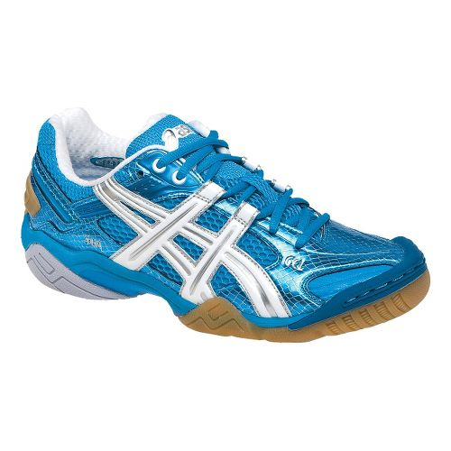 Womens ASICS GEL-Domain 2 Court Shoe - Diva Blue/White 9.5