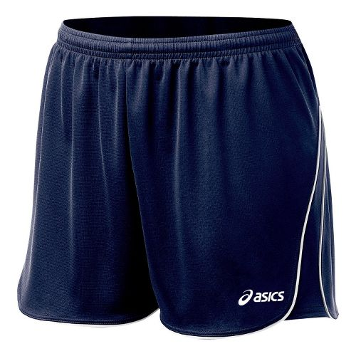Womens ASICS Training Lined Shorts - Navy L