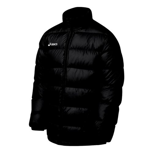 Mens ASICS Down Outerwear Jackets - Black XL