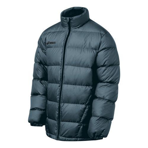 Mens ASICS Down Outerwear Jackets - Graphite XL
