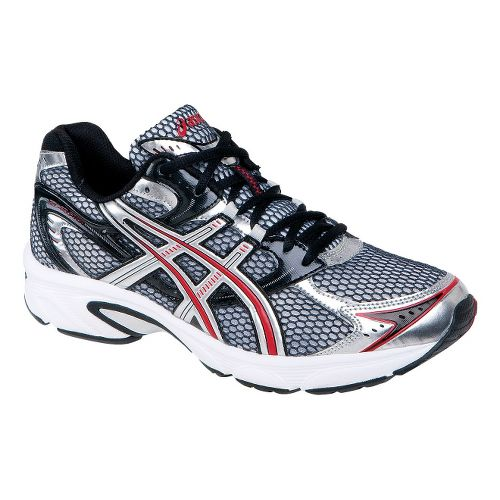 Mens ASICS GEL-Equation 4 Running Shoe - Black/Lightning 9.5