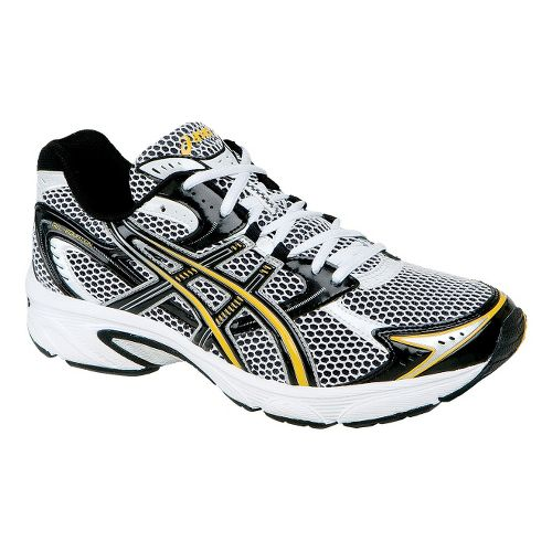 Mens ASICS GEL-Equation 4 Running Shoe - White/Black 10