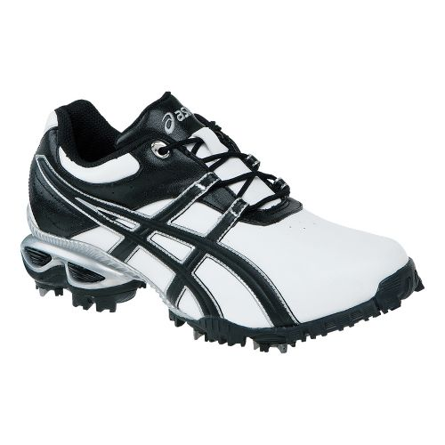 Mens ASICS GEL-Linksmaster Casual Shoe - White/Black 7.5