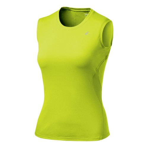 Womens ASICS Favorite Tank Tanks Technical Tops - WOW S