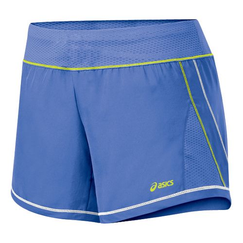 Womens ASICS Everysport Short Lined Shorts - Berry/WOW XS