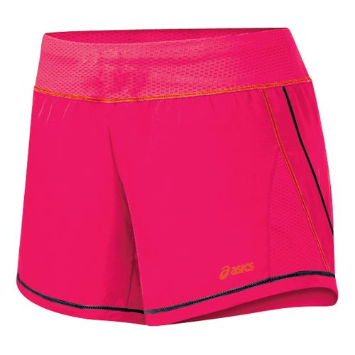 Womens ASICS Everysport Short Lined Shorts - Flare/Black S