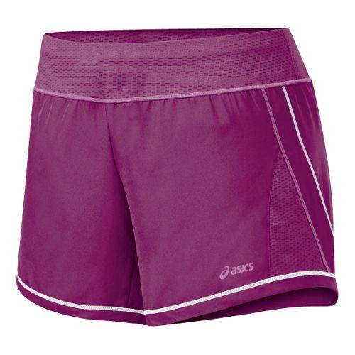 Womens ASICS Everysport Short Lined Shorts - Magenta/Mullberry S