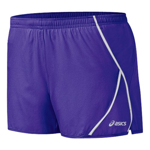 Womens ASICS 2-N-1 Shorty 2-in-1 Shorts - Jewel/White XL
