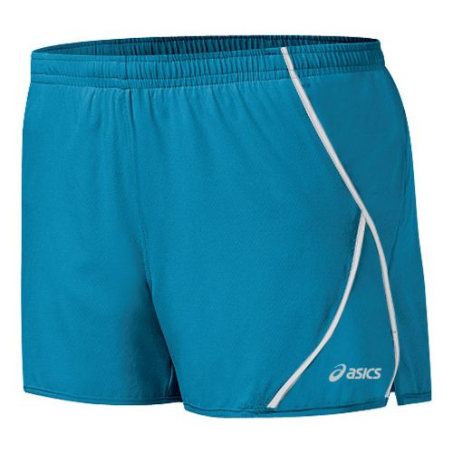 Womens ASICS 2-N-1 Shorty 2-in-1 Shorts - Lapis/White M