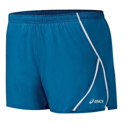 Womens ASICS 2-N-1 Shorty 2-in-1 Shorts - Peacock/White XS