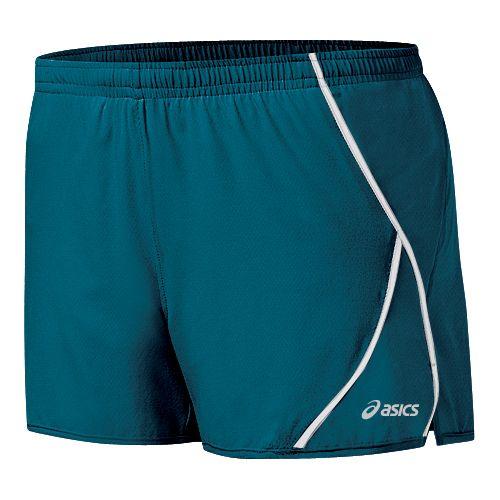 Womens ASICS 2-N-1 Shorty 2-in-1 Shorts - Zircon/White M