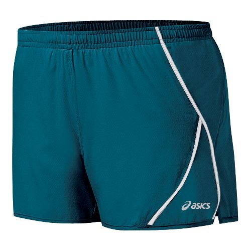 Womens ASICS 2-N-1 Shorty 2-in-1 Shorts - Zircon/White XS