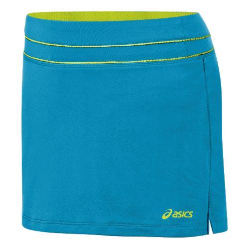 Womens ASICS Abby Skort Fitness Skirts - Lapis/WOW XL