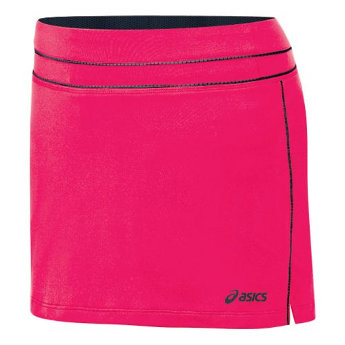 Womens ASICS Abby Skort Fitness Skirts - Watermelon/Iron XL