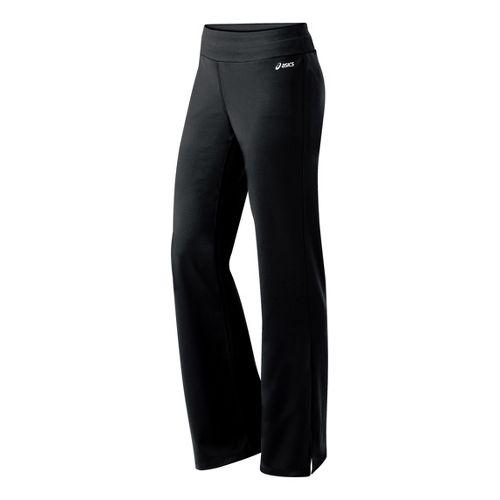 Womens ASICS Abby Pant Full Length Pants - Black XS
