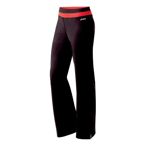 Womens ASICS Abby Pant Full Length Pants - Java/Ruby L