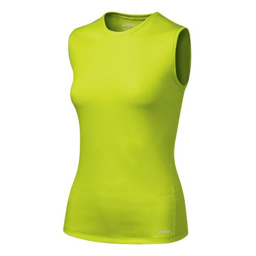 Womens ASICS Core Tank Tanks Technical Tops - WOW S