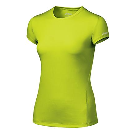 Womens ASICS Core Short Sleeve Short Sleeve Technical Tops