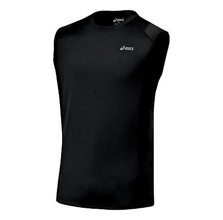 Mens ASICS Favorite Sleeveless Sleeveless Technical Tops