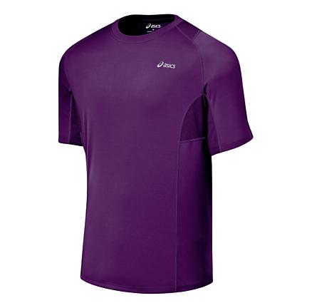 Mens ASICS Favorite Short Sleeve Short Sleeve Technical Tops