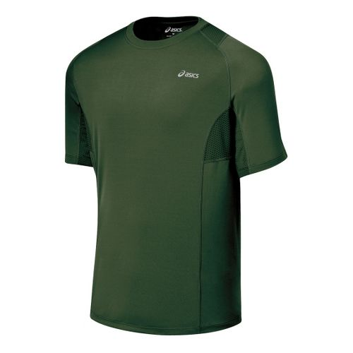 Mens ASICS Favorite Short Sleeve Short Sleeve Technical Tops - Urban XXL
