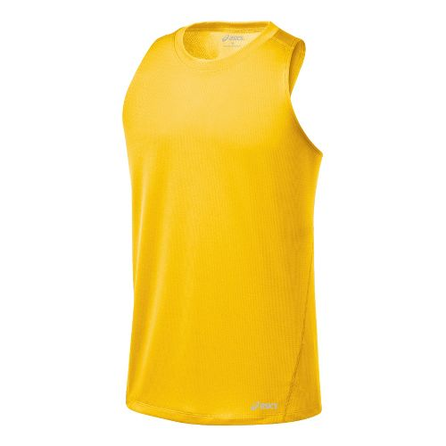 Mens ASICS Core Singlets Technical Tops - Spectra M