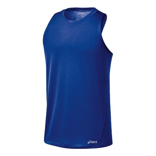 Mens ASICS Core Singlets Technical Tops - Surf XL