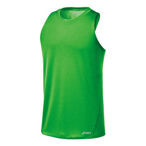 Mens ASICS Core Singlets Technical Tops - Track L