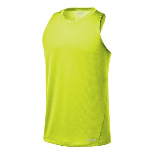 Mens ASICS Core Singlets Technical Tops - WOW XL