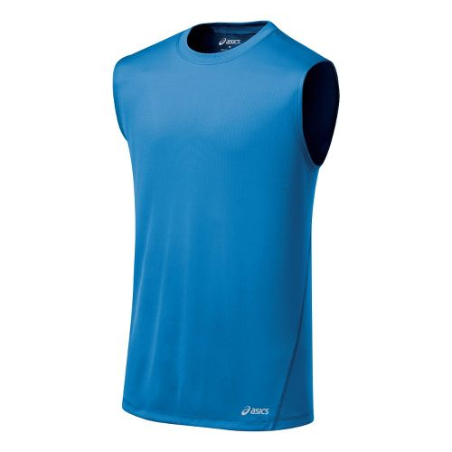 Mens ASICS Core Tanks Technical Tops - Jasper L
