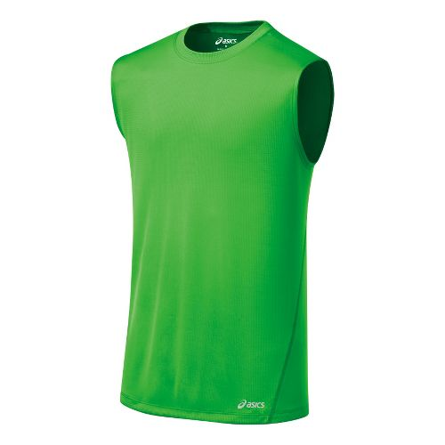 Mens ASICS Core Tanks Technical Tops - Track XXL