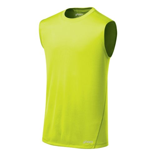 Mens ASICS Core Tanks Technical Tops - WOW S