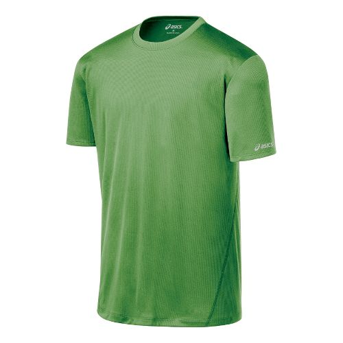Mens ASICS Core Short Sleeve Technical Tops - Fairway M