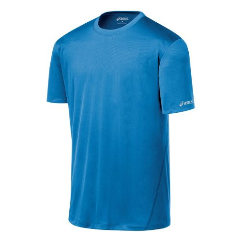 Mens ASICS Core Short Sleeve Technical Tops - Jasper XL