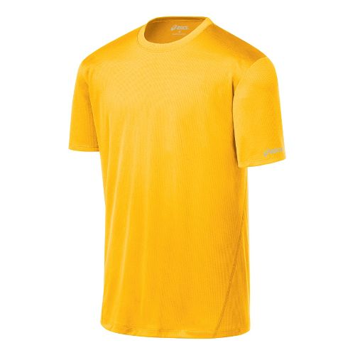 Mens ASICS Core Short Sleeve Technical Tops - Spectra S