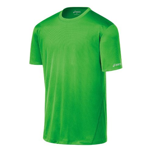 Mens ASICS Core Short Sleeve Technical Tops - Track S
