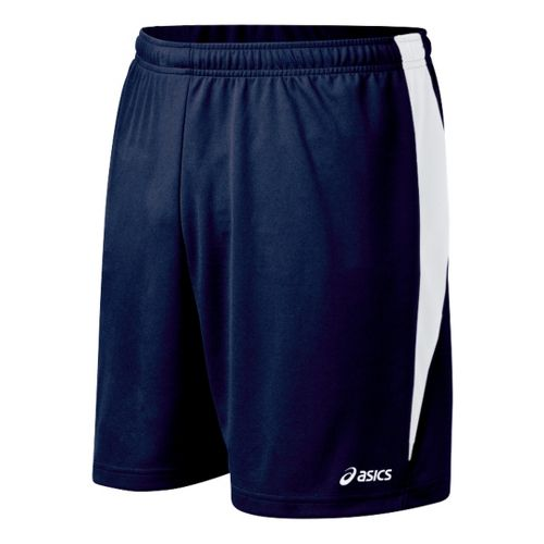 Mens ASICS Rally Unlined Shorts - Navy/White XL