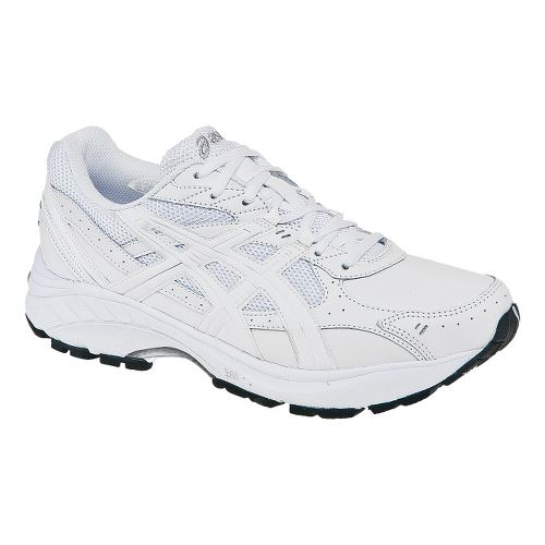 Mens ASICS GEL-Foundation Walker 2 Walking Shoe - White/White 8