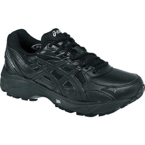 Womens ASICS GEL-Foundation Walker 2 Walking Shoe - Black/Black 10.5