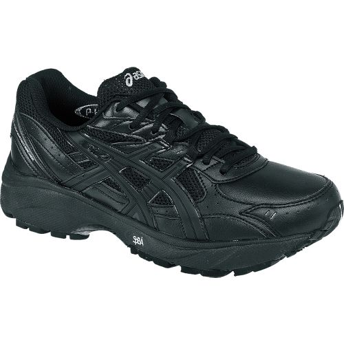 Womens ASICS GEL-Foundation Walker 2 Walking Shoe - Black/Black 11