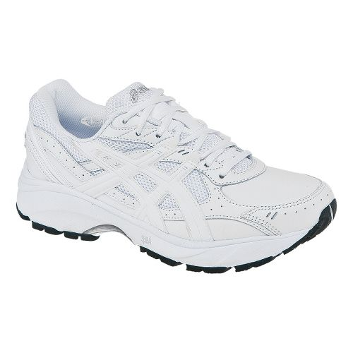Womens ASICS GEL-Foundation Walker 2 Walking Shoe - White/White 7