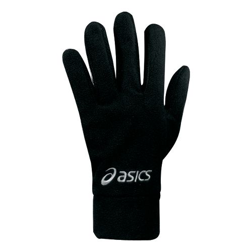 ASICS De-Luxe Fleece Gloves Handwear - Black S/M